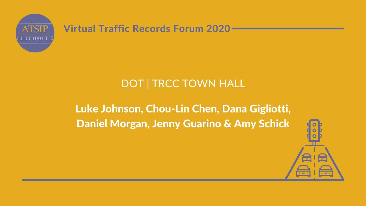 DOT | TRCC Town Hall