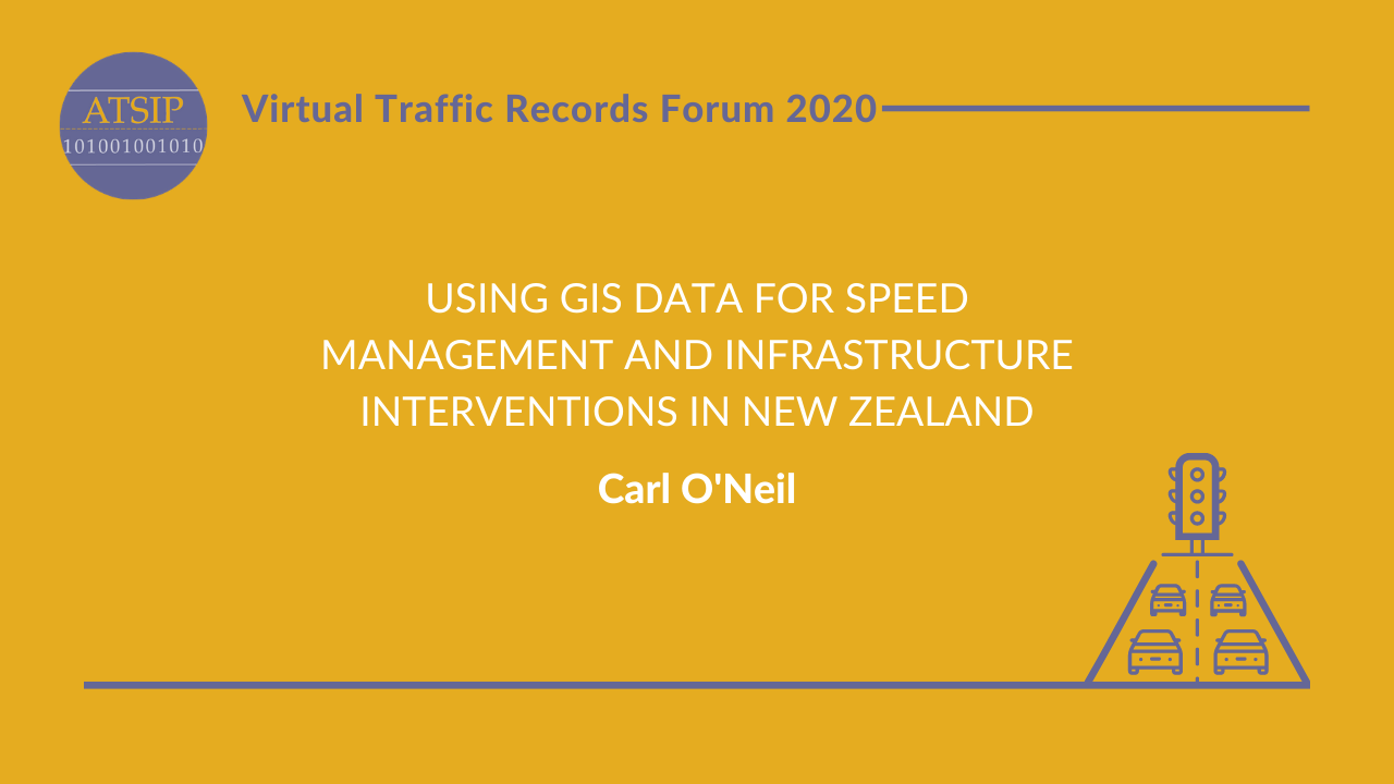 Using GIS Data for Speed Management and Infrastructure Interventions in New Zealand