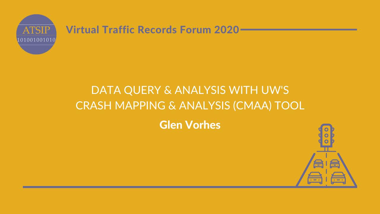 Data Query & Analysis with UW's Crash Mapping & Analysis (CMAA) Tool