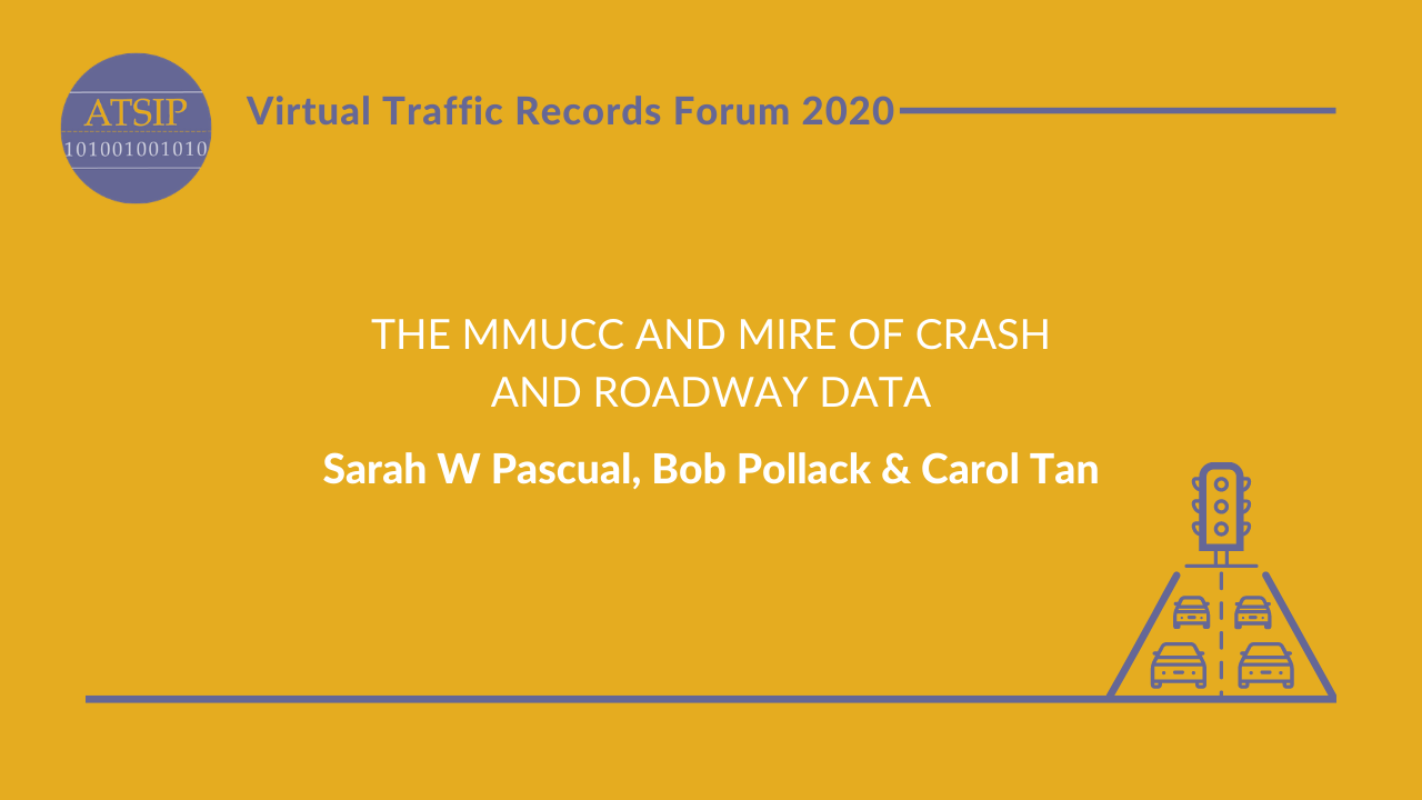 The MMUCC and MIRE of Crash and Roadway Data