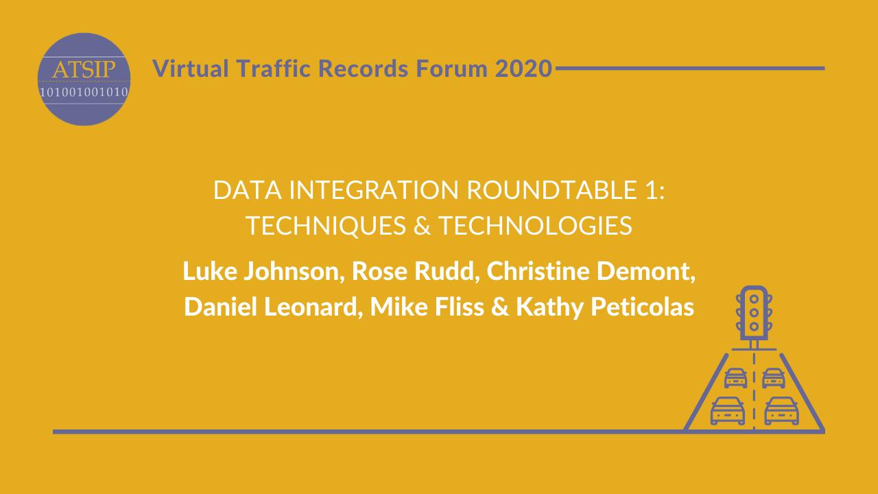 Data Integration Roundtable 1: Techniques & Technologies