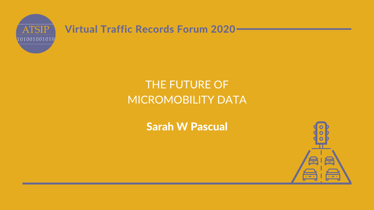 The Future of Micromobility Data